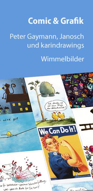 Postkarten Comic & Grafik - von Gaymann bis Janosch